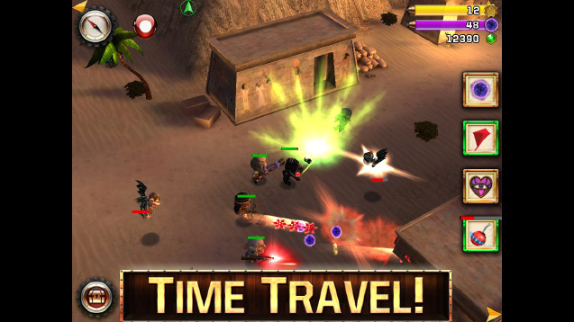 Upcoming iOS squad-based shooter Ninja Time Pirates will involve historical figures battling for Earth's future