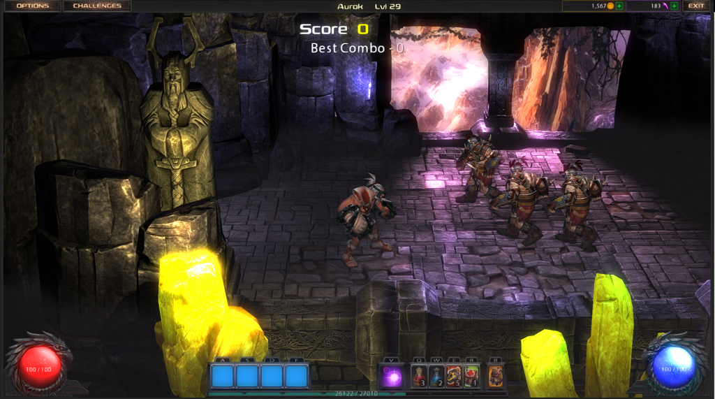 Diablo 2 designer Stieg Hedlund is working on a side-scrolling brawler for iOS, Android, and Ouya