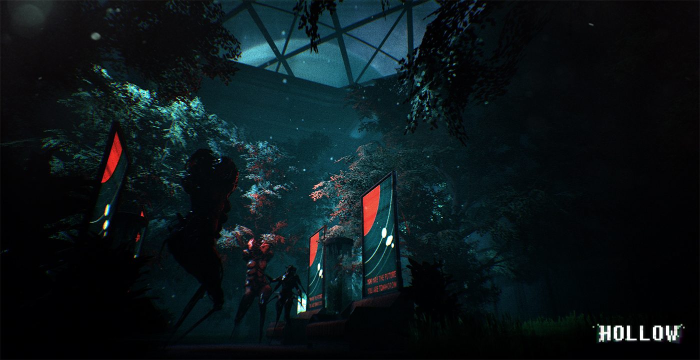 Creepy aliens and fast shootouts abound in the first footage of Hollow on Nintendo Switch