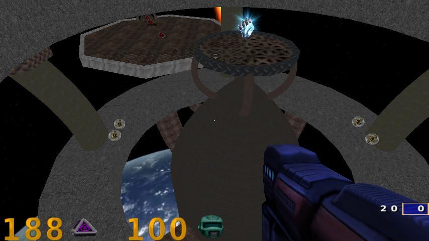 Play Quake III Arena on your Xperia Play with ioquake3 engine port Zeus Arena