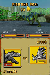 Dump your Pokemon for a T-Rex: here comes Ubisoft's Battle of Giants: Dinosaurs DS