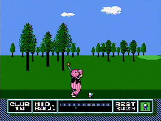 NES Open Tournament Golf icon