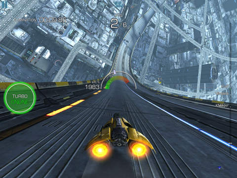 [Update] Wipeout-like sci-fi racing game AG Drive zips onto the App Store
