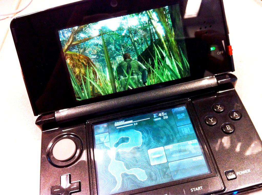 Metal Gear Solid: Snake Eater 3D touchscreen controls revealed for first time