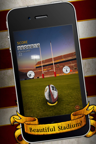 Free-to-play iPhone and iPad game Flick Kick Rugby Kickoff touches down over the App Store try line