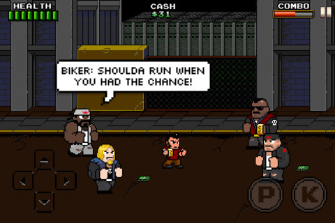 Take back the streets '80s style with pixellated brawler Trigger City for iOS