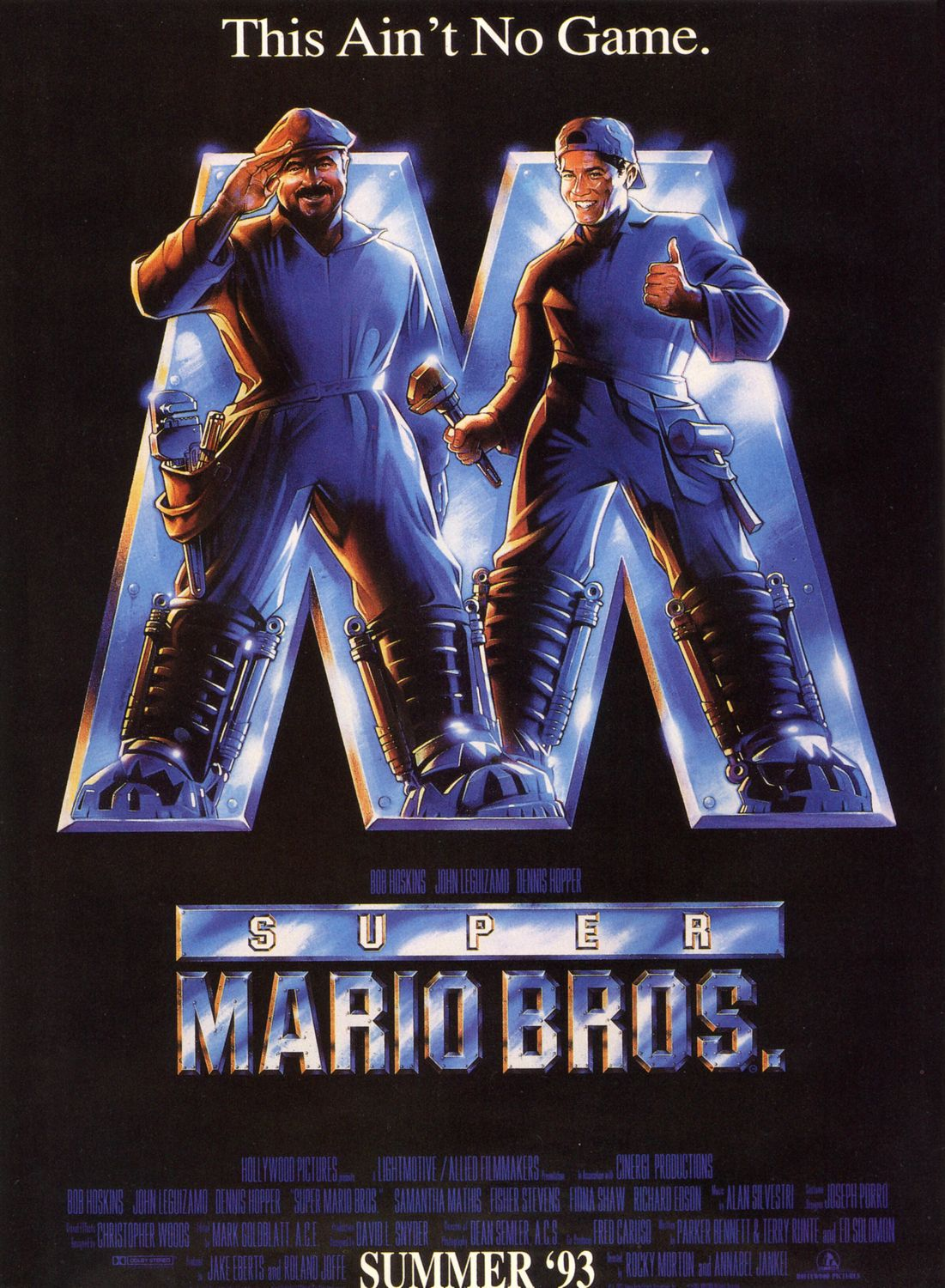 We don't need a new Mario movie, 1993's Super Mario Bros was perfect