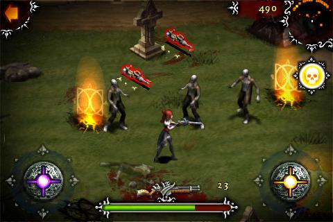 Garters & Ghouls update adds iPhone 3GS compass function