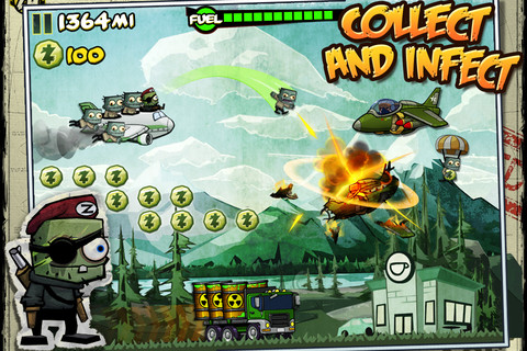 Undead endless-flyer Zombie Ace lands on iPhone and iPad