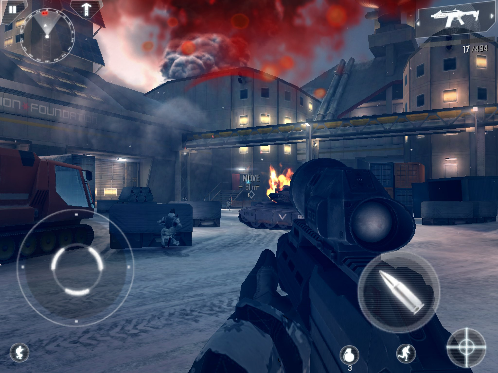 [Update] Modern Combat 4: Zero Hour storms Google Play, suffers download issues