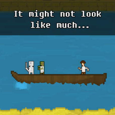 A ship of secrets awaits in You Must Build a Boat