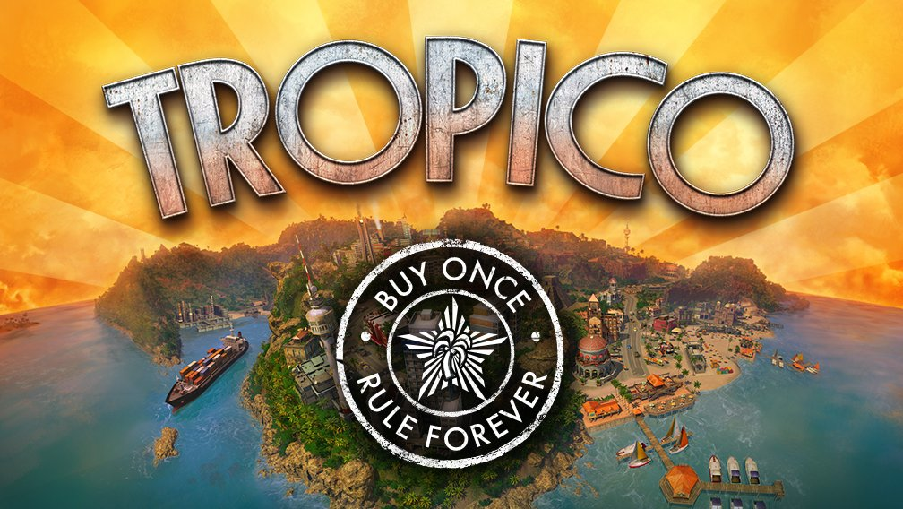 Tropico will be getting a free expansion called Absolute Power at the end of October