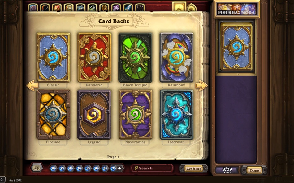 Hearthstone strategy guide: Basic card crafting