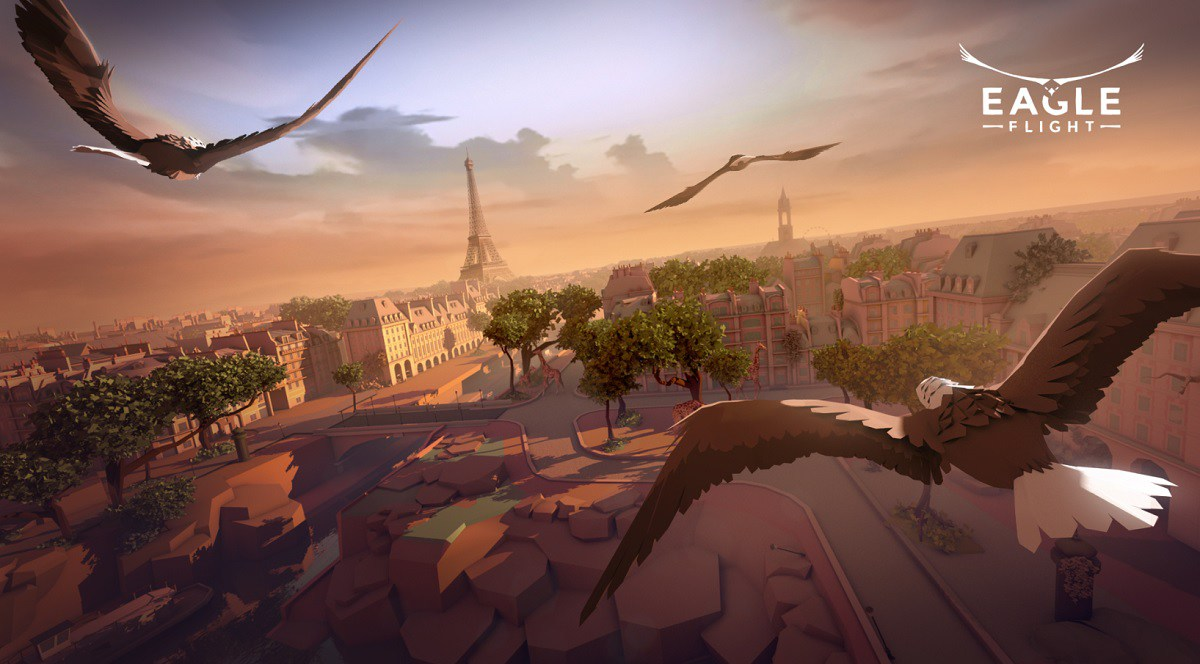[Update] Feel free as a bird above the skies of Paris in Eagle Flight, out now on Oculus Rift