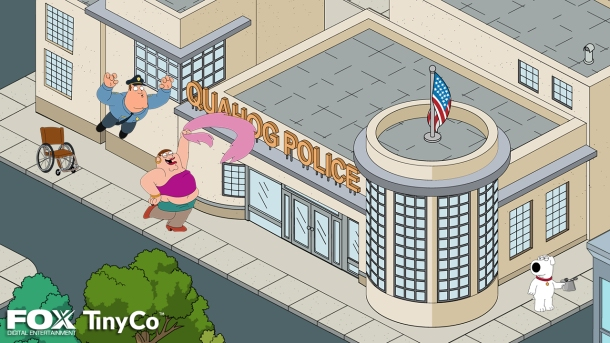 Giggity giggity - TinyCo shows off first screens of upcoming Family Guy game