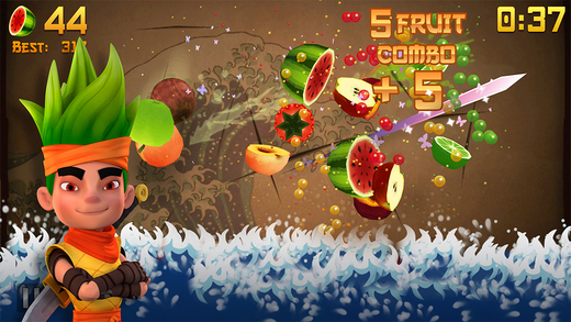 Fruit Ninja's biggest update ever adds fresh slicing surprises and new characters