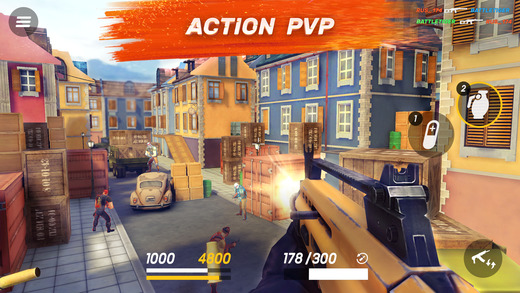 Guns of Boom is a stylish TF2-like FPS built with mobile in mind, out now on iOS and Android