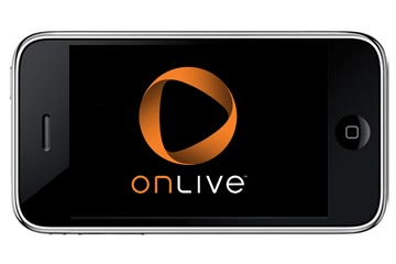 OnLive demonstrates PC game on-demand client for iPhone
