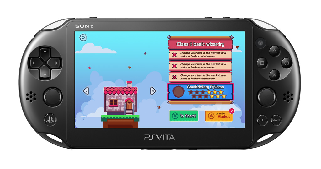 Silver Award-winning 99 Bricks: Wizard Academy is toppling over from mobile to Vita