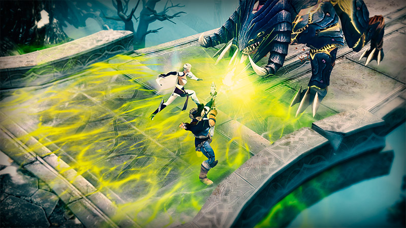 Gamescom 2016 - Sacred Legends is a cool new fantasy RPG, out next week