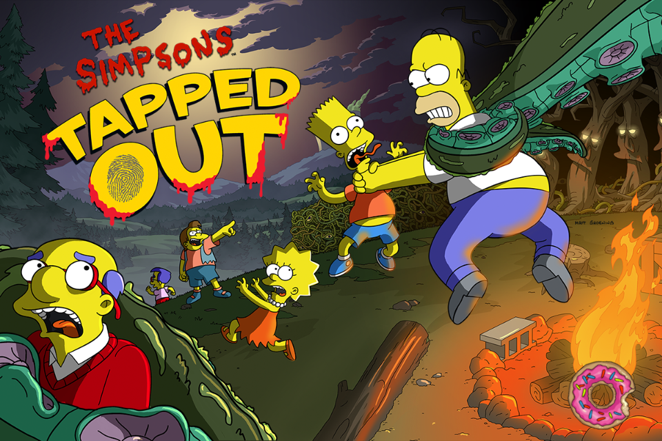 Prepare Springfield for Halloween in the latest update for The Simpsons: Tapped Out