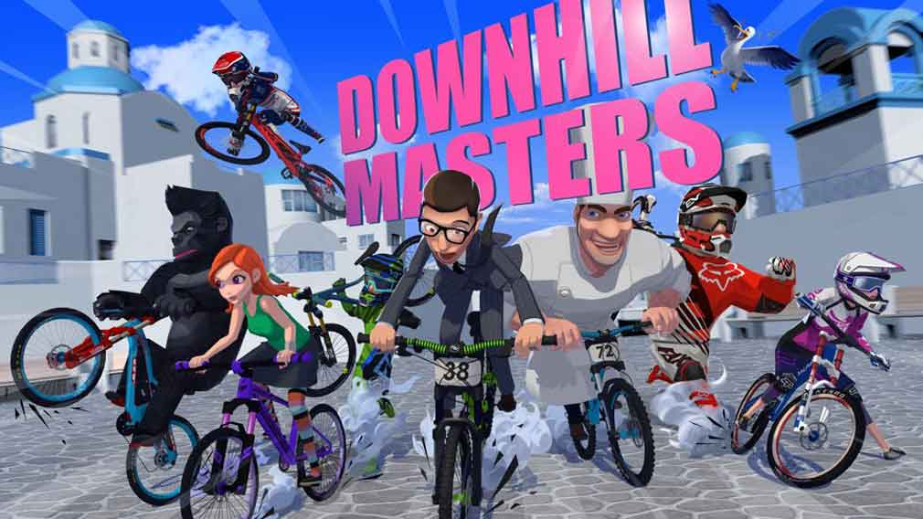 Arcadey biking game Downhill Masters is now out on Android