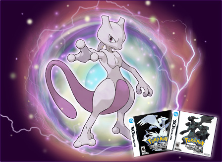 Mewtwo heading to Pokemon Black / White on DS for a 'limited time'