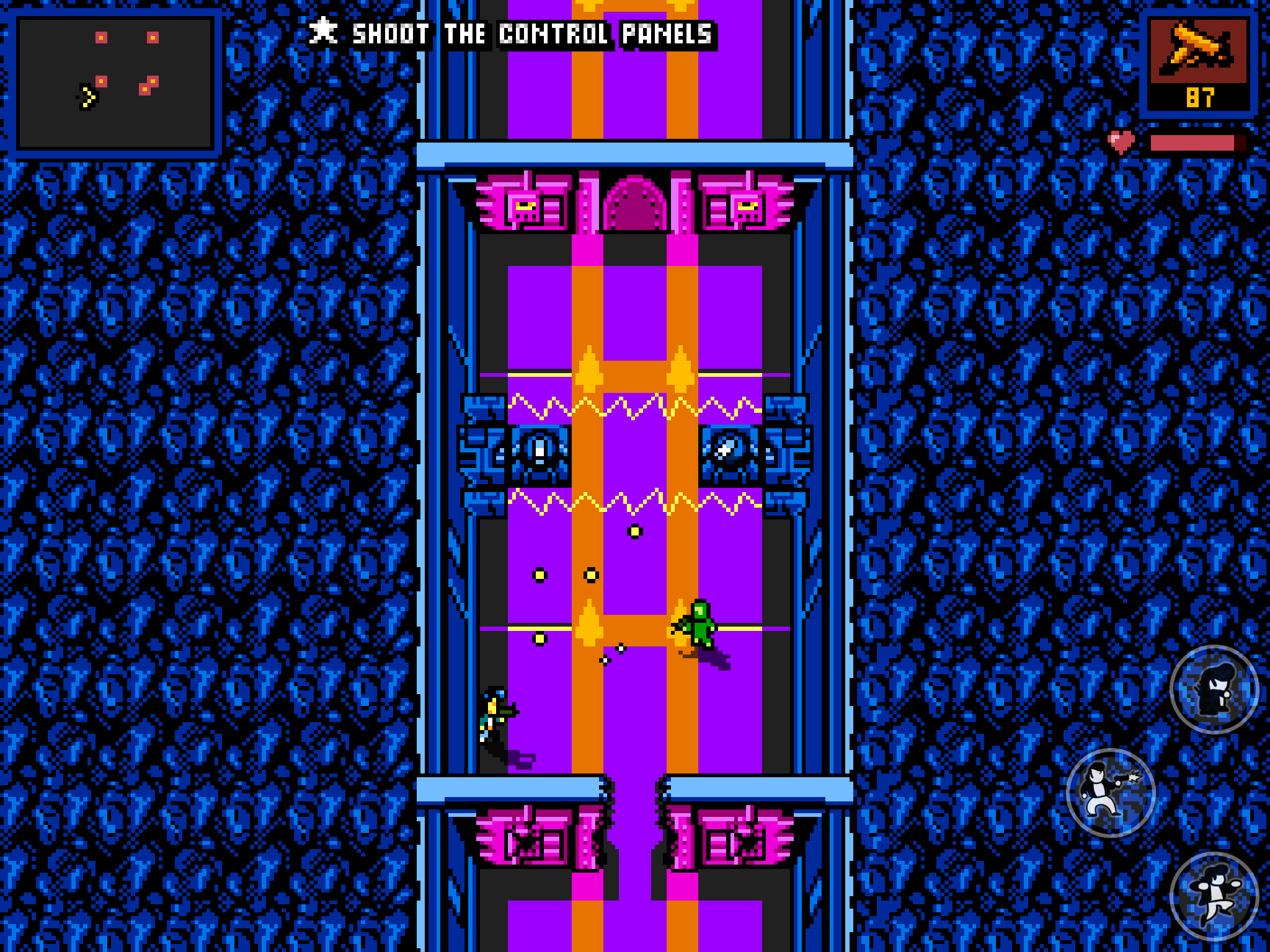 Retro City Rampage: DX - A bit like herding geese, but geese with guns