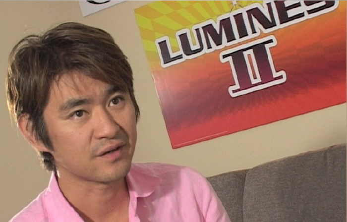 Tetsuya Mizuguchi Lumines II video interview