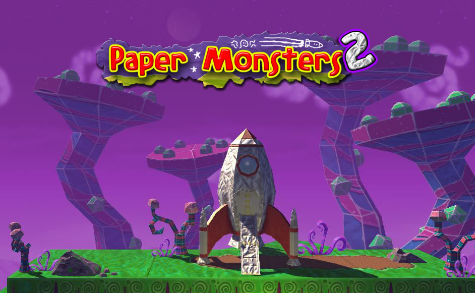 More cardboard worlds await you in Paper Monsters 2 for iOS