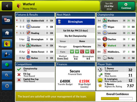 Football Manager Handheld has had its price cut in half on iOS and Android