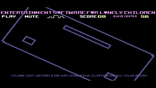 ESFLC uses two-player Pong to deliver a personal game about social anxiety