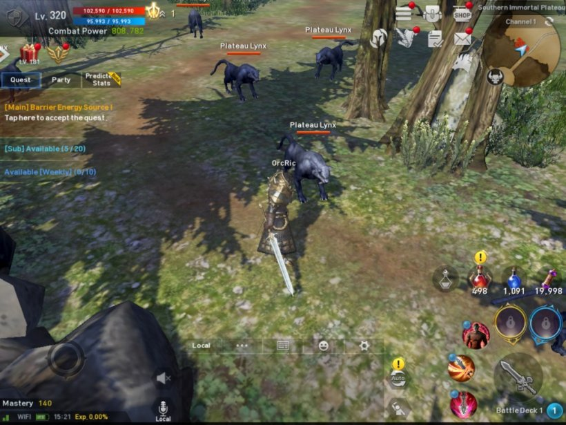 Lineage 2: Revolution's new Orcs are absolute beasts to play as