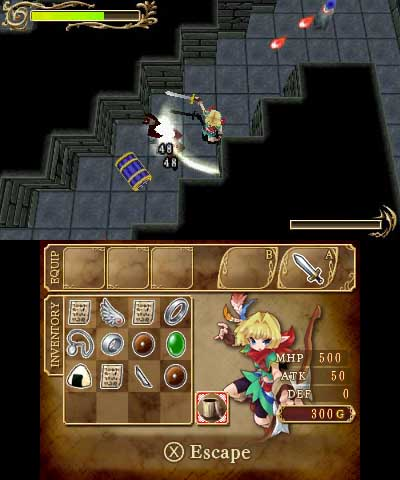 Excave, the Japanese dungeon crawling RPG, hits the European 3DS eShop next week