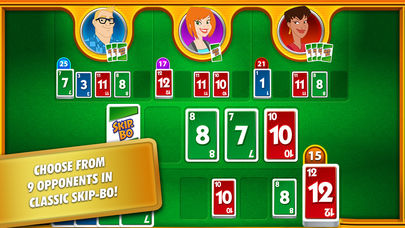 Skip-Bo is a fun family card game that's on sale for iOS and Android at the moment