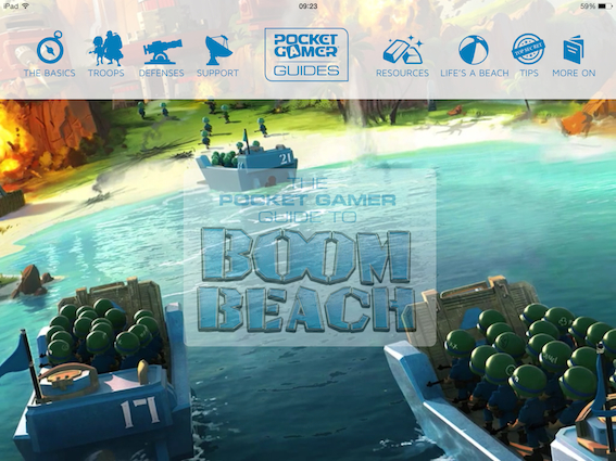 The Pocket Gamer Guide to Boom Beach lands on the App Store