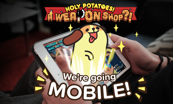 Holy Potatoes! A Weapon Shop!?! is a brilliant midcore management sim that's out now for iPhone and iPad