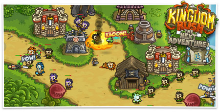 Out at midnight: Travel to exotic new locations and slaughter the natives in Kingdom Rush: Frontiers for iOS