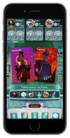 Card game Coup has a Kickstarter to bring its deceptive tactics to iOS