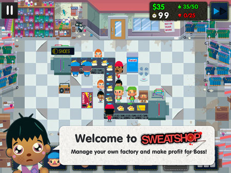 Ingenious tower defence title Sweatshop tests your morals as well as your reflexes