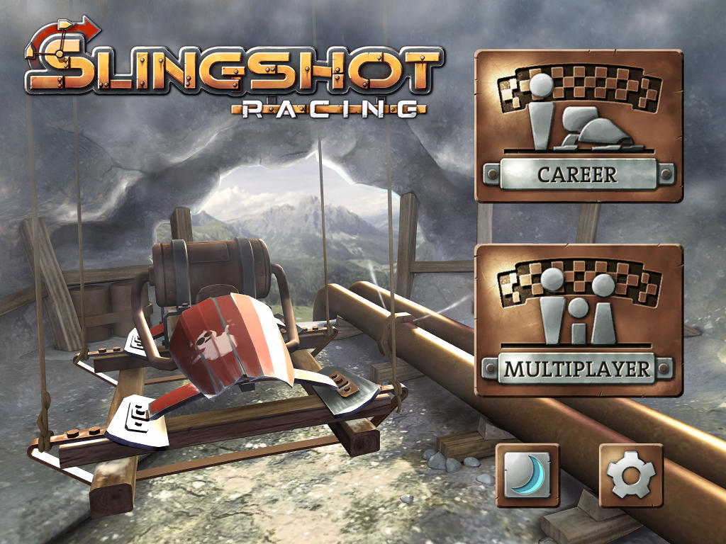 The superb Slingshot Racing gets multiplayer, reduced to 69p / 99c