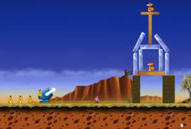 'Two bit hack' releases free Angry Birds copycat Chicks'n'Vixens for Windows Phone 7