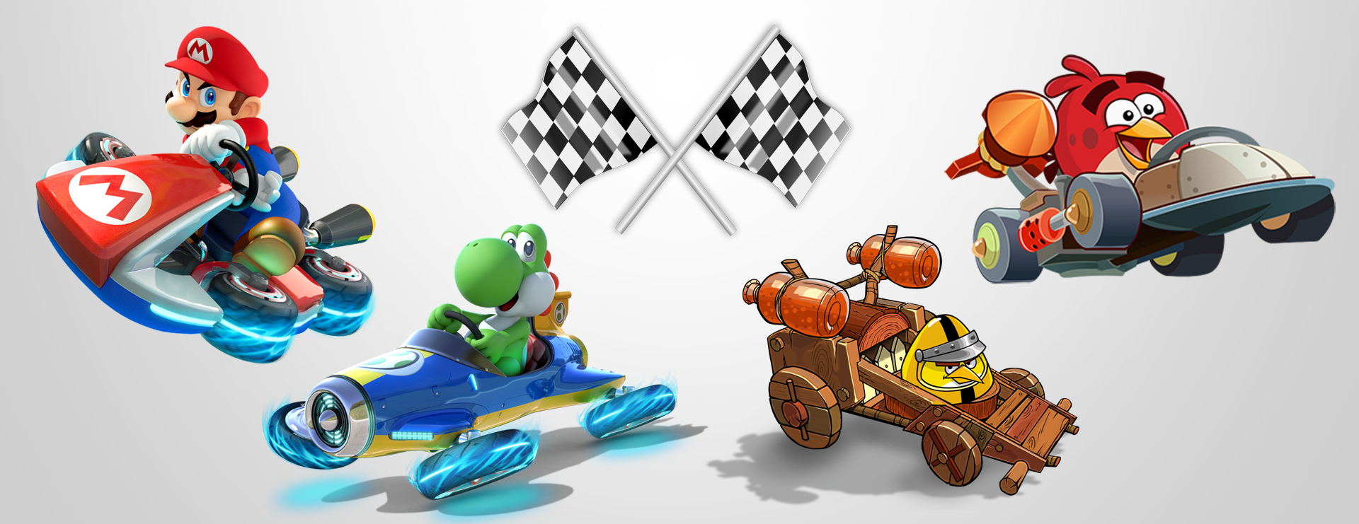 Why Mario Kart 8 isn't nearly as brilliant as Angry Birds Go!