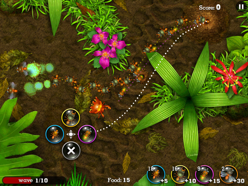 Image & Form mixes line-drawing and real-time resource strategy in pheromonal iOS game Anthill