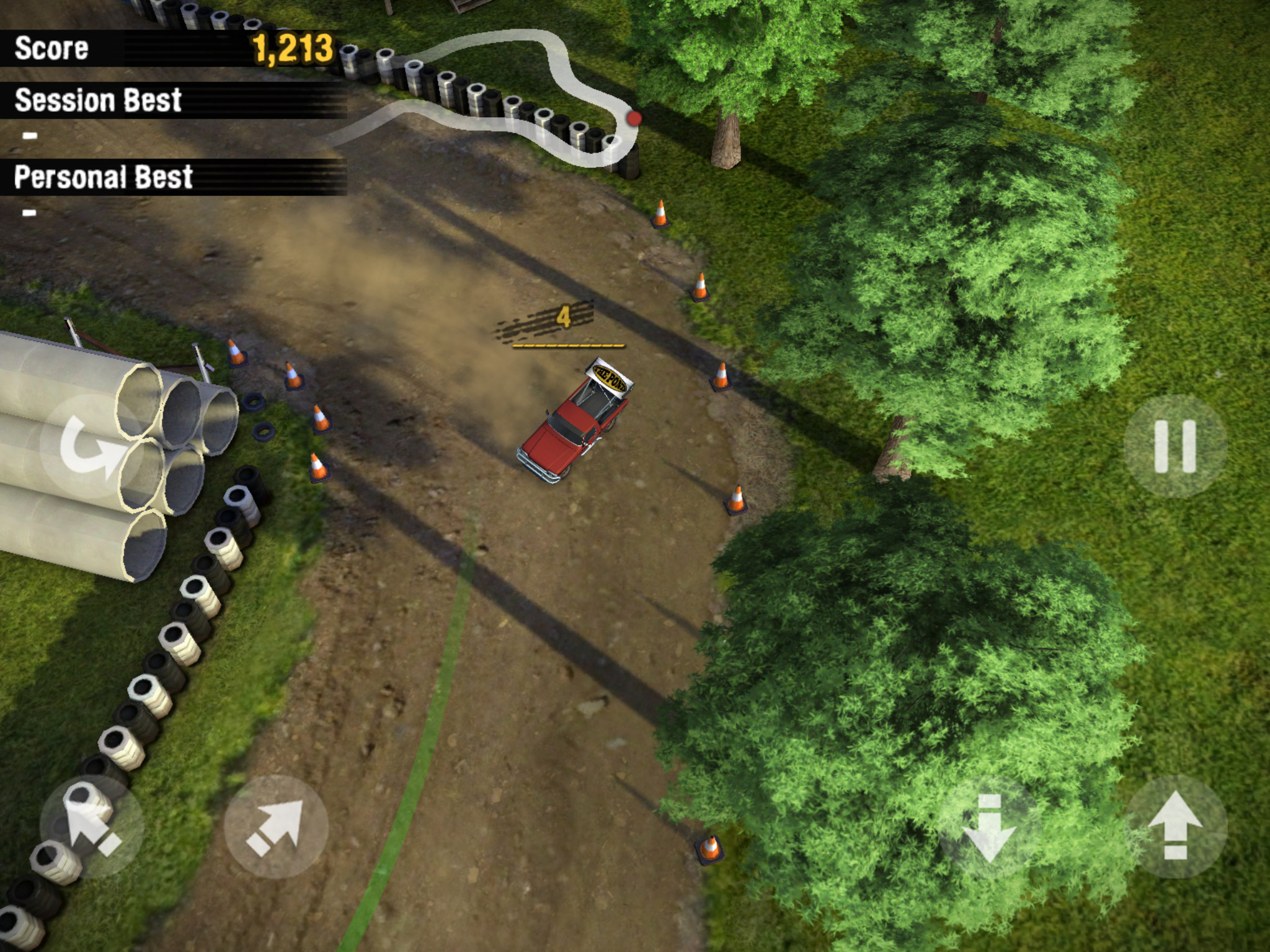 Slick racer Reckless Racing 3 has been discounted for the first time on iOS and Android