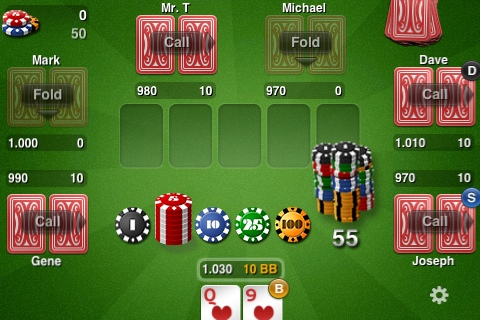 THTouch poker lays its cards on the App Store table