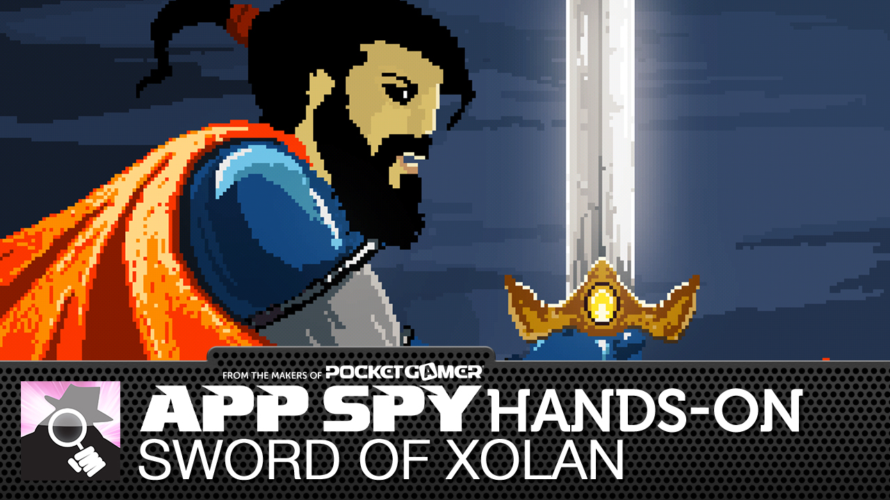 Sword of Xolan is short bursts of Castlevania for your mobile