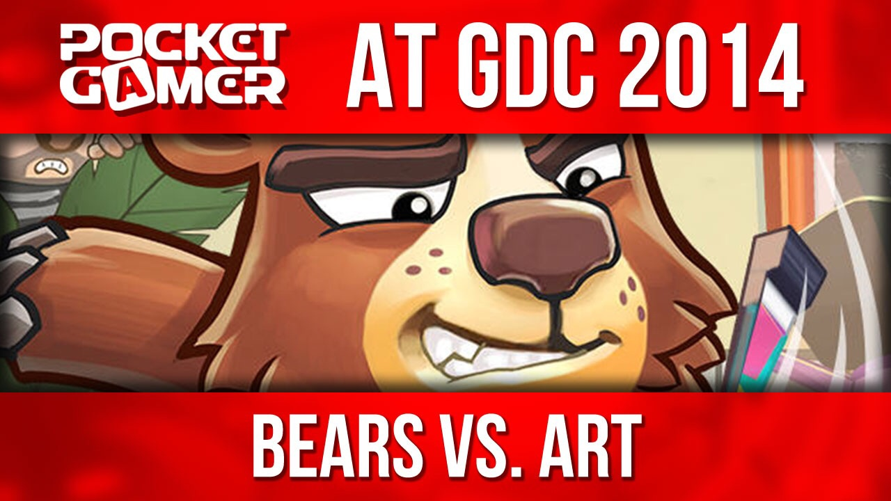 GDC 2014: Halfbrick shows off vindictive puzzler Bears vs. Art