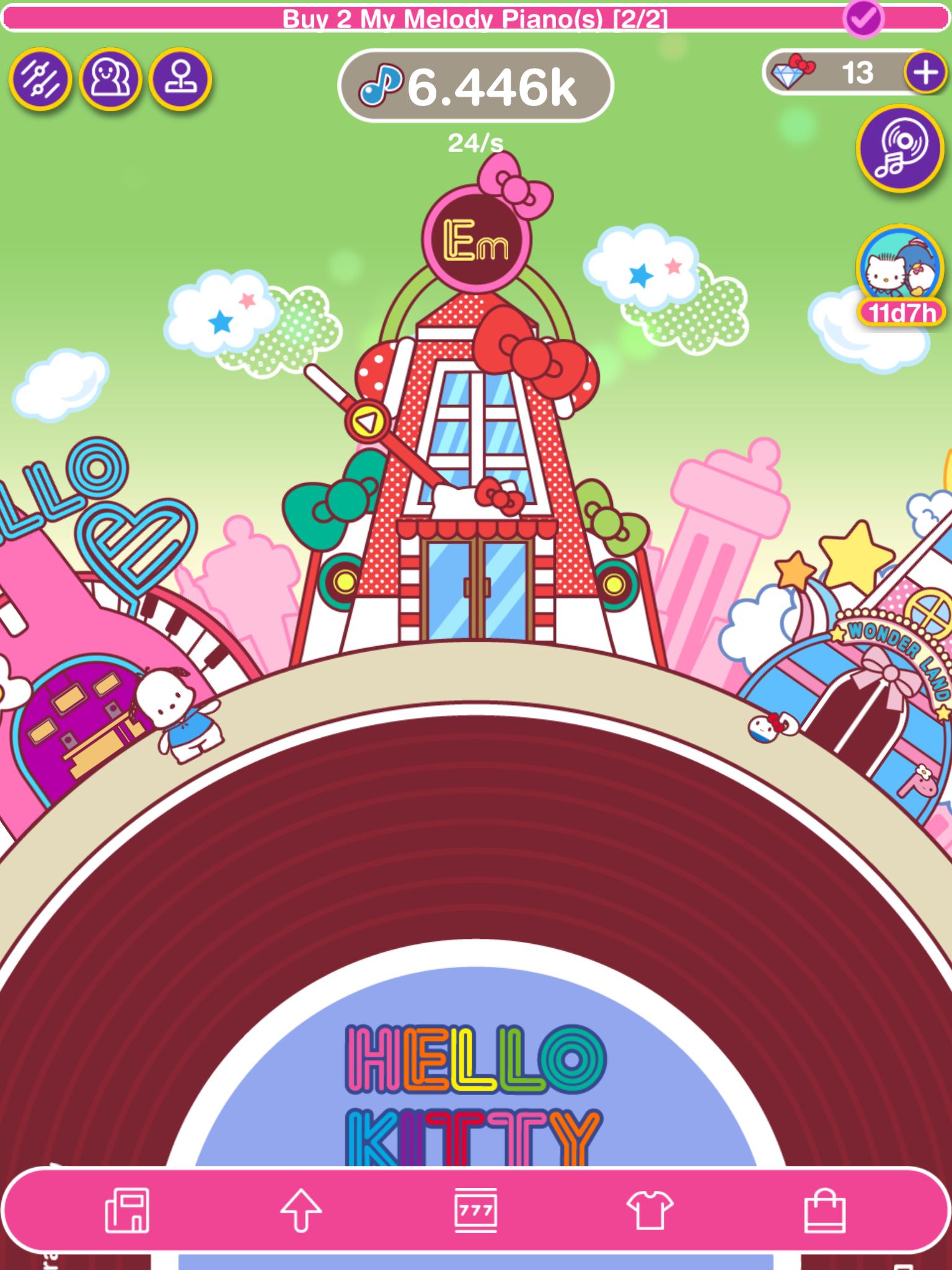 Hello Kitty Music Party icon