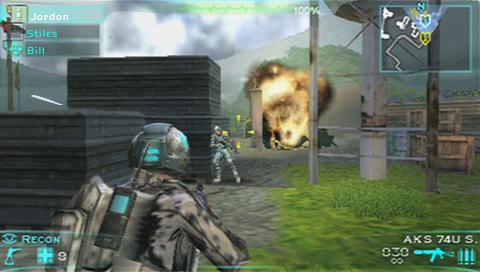 Ubisoft announces Tom Clancy's Ghost Recon Predator for PSP